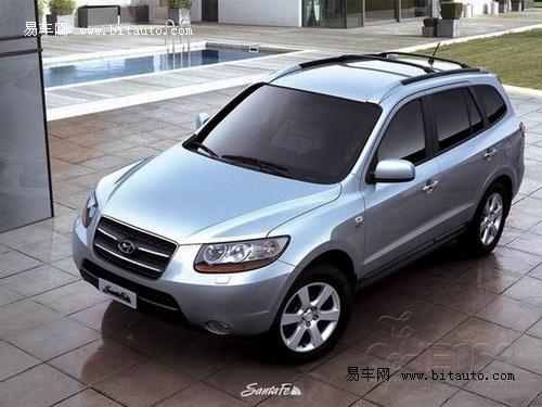 现代汽车在1999年推出了第一代的圣达菲(santa fe)车型,定位高清图片