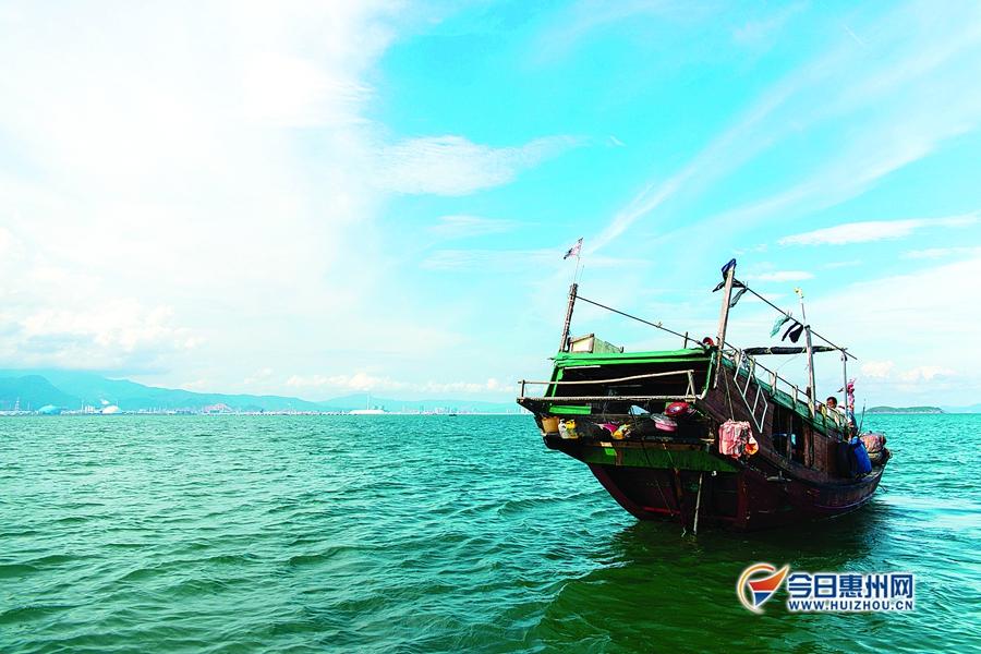 小辣甲岛:惠州最美蓝天在这里
