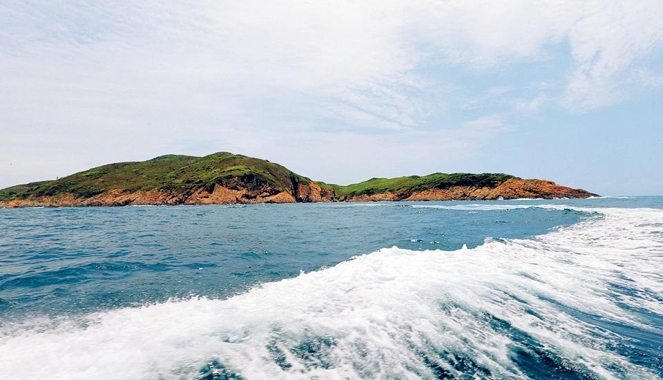 小星山岛是大亚湾口东侧最大的岛. 《惠州日报》记者黄俊琦 摄