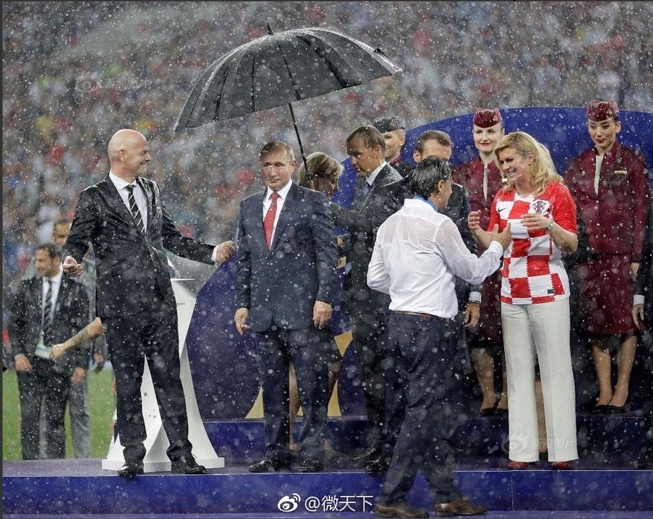 图片    当地时间2018年7月15日,俄罗斯莫斯科,2018世界杯决赛,法国4